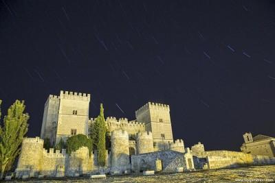 Fotografía Nocturna Ampudia Palencia, Castillo de Ampudia, Palencia