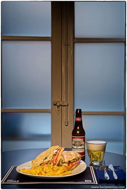 Fotógrafo de Comida para Restaurante NYC Hells en Valladolid