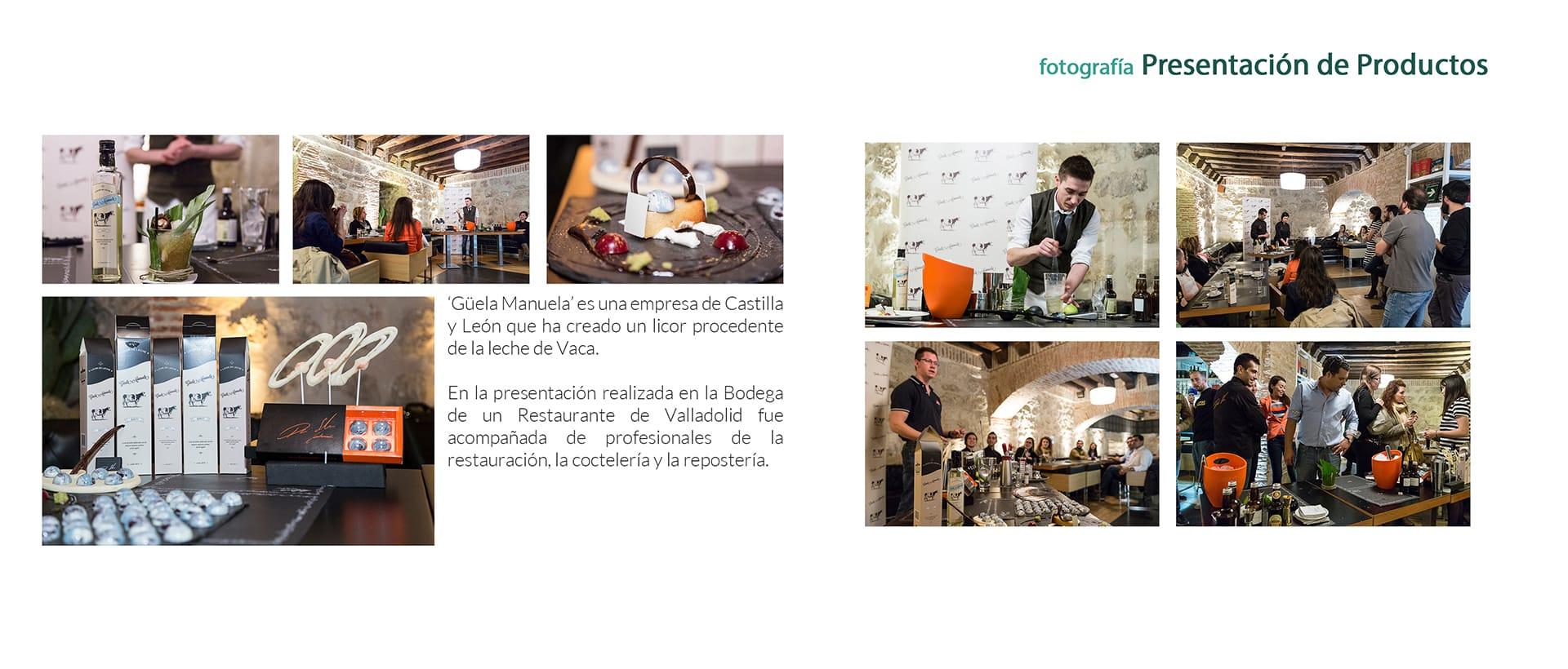 Fotógrafo en Eventos Presentación de Productos
