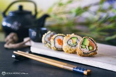 Fotógrafo restaurante comida china japonesa mr wok madrid valladolid