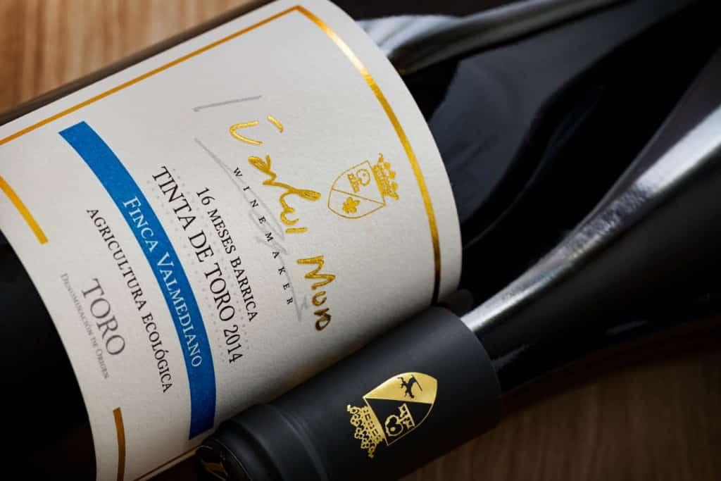 fotografo botellas de vino valladolid bodega