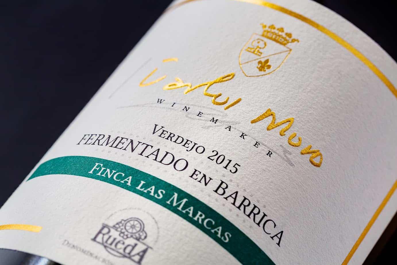 Bodegas Matarromera Fotógrafo Botellas de Vino